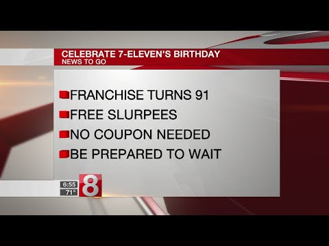 7-Eleven offering free Slurpees on Wednesday