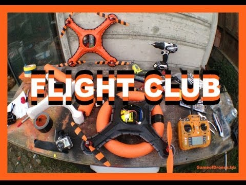 Yes, Quadcopter Fight Clubs Exist