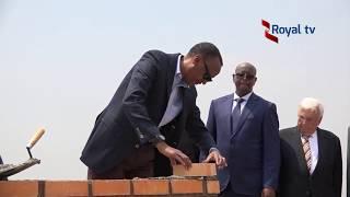 Perezida Kagame yashyize ibuye ry'ifatizo ahazubakwa ikibuga cy'indege i bugesera