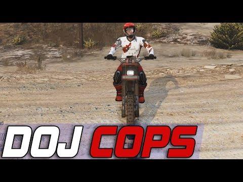 Dept. of Justice Cops #648 - Motorcross Day
