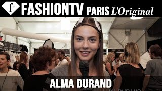 Model Alma Durand | Beauty Trends for Spring/Summer 2015 | FashionTV