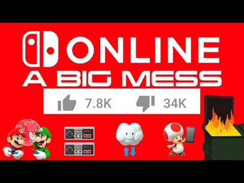 Nintendo Switch Online Is A MESS