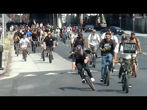 BMX In The Streets Of Los Angeles - The Street Series 2016