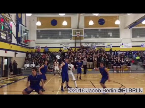 AWESOME VIDEO:  Full Court Shot Wins A High School Game