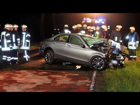 Glätte im Mai: Autofahrer stirbt