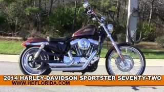 5. New 2014 Harley Davidson Sportster Seventy-Two Motorcycles for sale