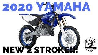 1. 2020 Yamaha YZ Lineup   NEW YZ125x