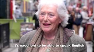 As part of Seachtain Na Gaeilge, we recorded a Vox Pop on Quay Street, Galway City on 8th March 2014. We asked people to tell us if they thought the Irish ...