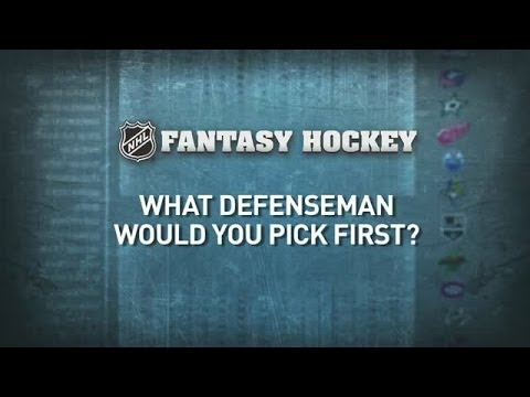 TOP - We ask the world's best hockey players who their top defenseman would be in Fantasy Hockey.
