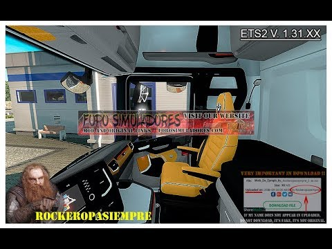 Interior package Scania R and S 2016 ETS2 1.31.x