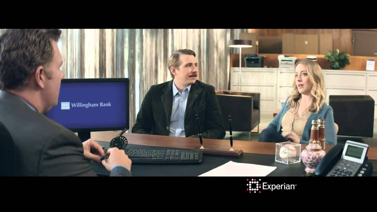 Experian's Home Loan Commercial 30 Credit Swagger