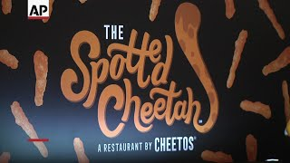 The company behind Fritos and Tostitos is celebrating its Cheetos brand with a three-day pop-up restaurant devoted to the ...