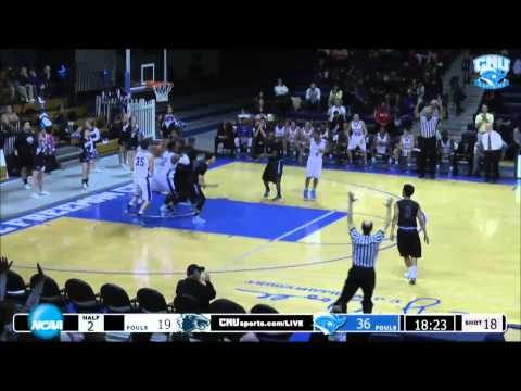 MBB: CNU vs Wesley Highlights - Feb. 7 2015