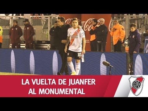 EL REGRESO DEL 10 AL MONUMENTAL
