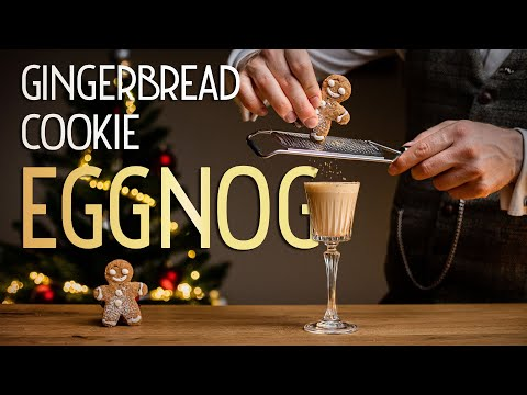Special EGGNOG | with DIY Gingerbread Cookie syrup