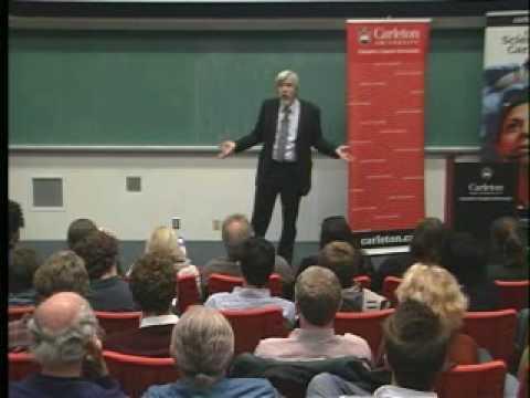 2008 Herzberg Vorlesung - Der große Hadron Collider :Licht aufs dunkle Universum gießen