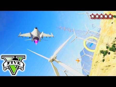 Jet - GTA 5 Insane Jet Stunts | GTA V Online Jets Flying Through Windmills | Grand Theft Auto 5 Crazy Stunts and Funny Montage GTA 5 sandbox races, jets, crashes, explosions, fails. Watch HiketheGamer...