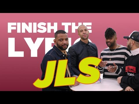 JLS Covers The Saturdays, Rihanna & More | Finish The Lyric | Capital