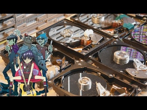 Feel Good Inc. - but played with Floppy Disks and HDDs