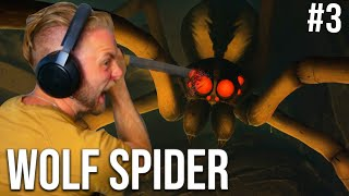 KILLING THE WOLF SPIDER!! - GROUNDED #3