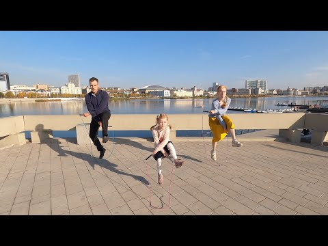 Челябинская скакалка. Видео из Казани