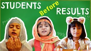 Types Of STUDENTS Before RESULTS ... #MyMissAnand #Fun #Kids #Bloopers