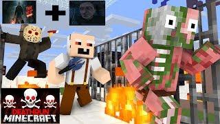 Video Monster School : Minecraft Death Run (Grandpa,Jason) - Minecraft Animation MP3, 3GP, MP4, WEBM, AVI, FLV Oktober 2018