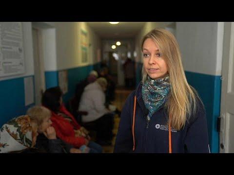 Ανατολική Ουκρανία: Μεγάλες οι ανάγκες υγειονομικής περίθαλψης…