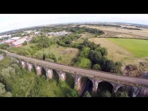 Newton-le-Willows Drone Video