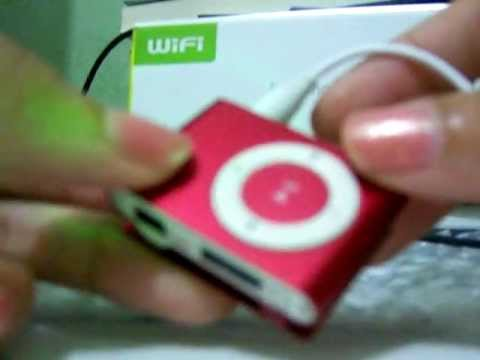 USB Rechargeable Mini Clip MP3 Player with Micro SD/TF Card Slot - Red - Chinabuye.com