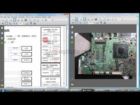 Laptop motherboard Repair (Chip Level) How to check dead board .Eng