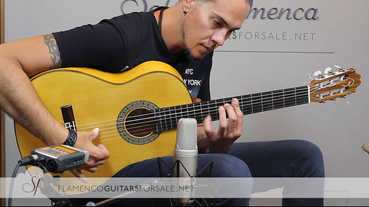 VIDEO TEST: Francisco Sánchez 2018 flamenco guitar for sale