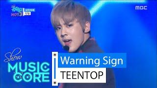[HOT] TEENTOP - Warning Sign, 틴탑 - 사각지대, Show Music core 20160206, clip giai tri, giai tri tong hop