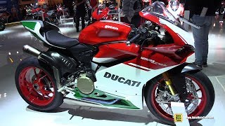 8. 2018 Ducati 1299 Panigale R Final Edition - Walkaround - 2017 EICMA Motorcycle Exhibition