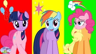 Download Video Wrong Heads Silly Eyes My Little Pony MLP Surprise Egg and Toy Collector SETC MP3 3GP MP4