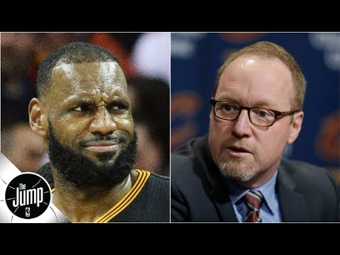 Video: David Griffin says building around LeBron with Cavs was 'miserable' | The Jump