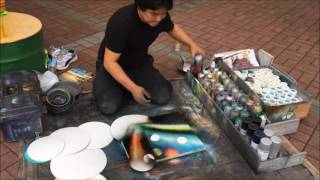 Video Spray ART LOCO making universe!!!!! MP3, 3GP, MP4, WEBM, AVI, FLV Juni 2019