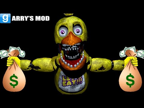 ANIMATRONICS ROB A BANK!! - Gmod Five Nights At Freddy's Bank Robbery (Garry's Mod)