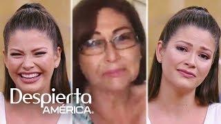 Ana Patricia llora al recibir en vivo una llamada de su mamá desde México