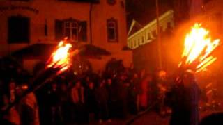 Liestal Switzerland  city images : Chienbäse Fire Parade in Liestal Switzerland (Short)