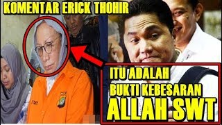Video Komentar Elegan Erick Thohir Terkait Hoax Ratna Sarumpaet MP3, 3GP, MP4, WEBM, AVI, FLV Oktober 2018