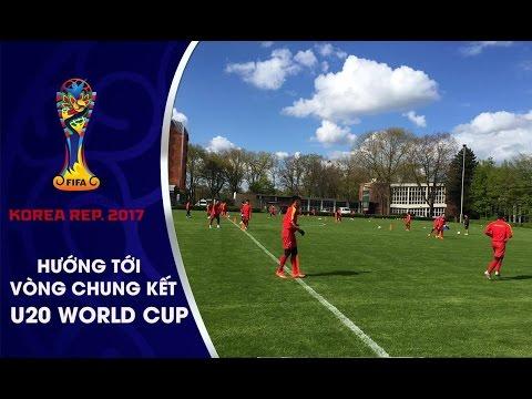 BUỔI TẬP ĐẦU TIÊN CỦA U20 VIỆT NAM TẠI ĐỨC, SẴN SÀNG ĐỐI ĐẦU U23 BORUSSIA MOENCHENGLADBAC