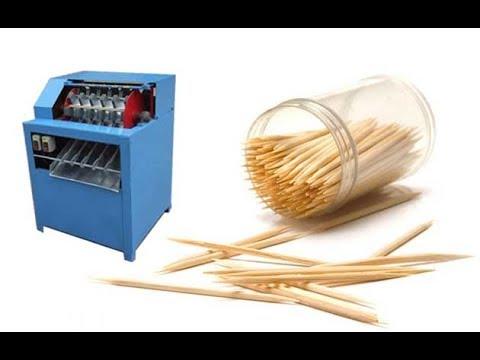 toothpick making machine|automaticbambootoothpickmakingmachine