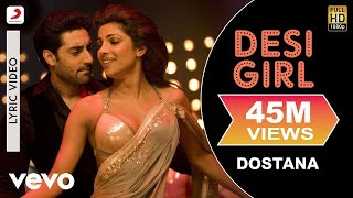 Video Desi Girl - Dostana | Lyric Video | John | Abhishek | Priyanka MP3, 3GP, MP4, WEBM, AVI, FLV Agustus 2018
