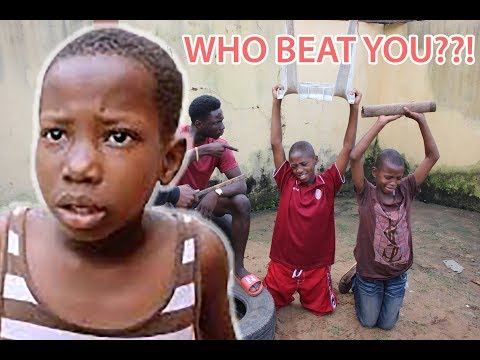 WHO BEAT YOU? SEE PUNISHMENT  (Akpos The Comedian)
