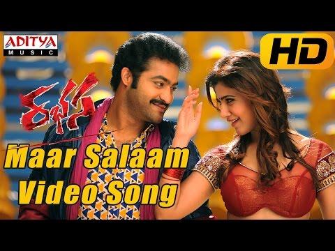 Maar Salaam Full Video Song  Rabhasa Video Songs Jr Ntr Samantha Pranitha