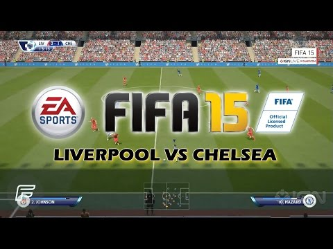 Chelsea - More next-gen gameplay footage from Gamescom, this time its Liverpool Vs Chelsea! Do you guys think this is an improvement over FIFA 14? » http://www.twitter...