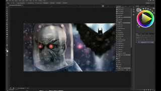 Krita Speedpaint (Mr. Freeze)