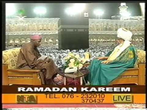 Sheikh Dahiru Bauchi on NTA 1/2