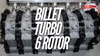 We begin the FIRST BILLET TURBO 6 ROTOR.  What should we put it in? by Rob Dahm